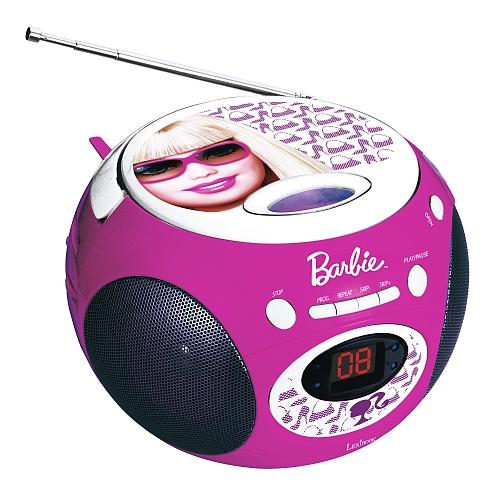 CD přehrávač, rádio CD, magnetofon Barbie Lexibook