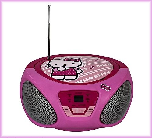 CD radio Hello Kitty Bomboox